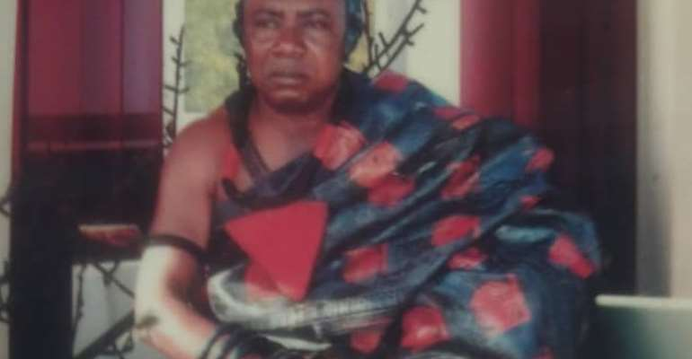 Kwamang Birimhene Nana Baffour Agyekum (Siakwanhene of the Kwamang Traditional Council)