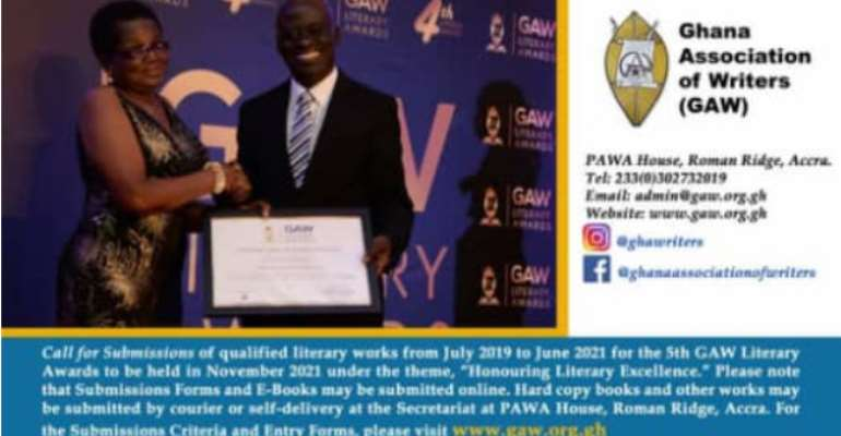 5th GAW Literary Awards: Calls for submissions now open
