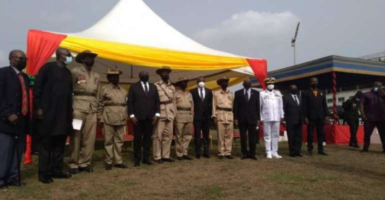 Bawumia lays wreath in commemoration of February 28 crossroads shooting