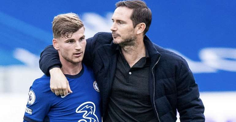 'If I'd scored more maybe Frank Lampard would still be here' – Werner