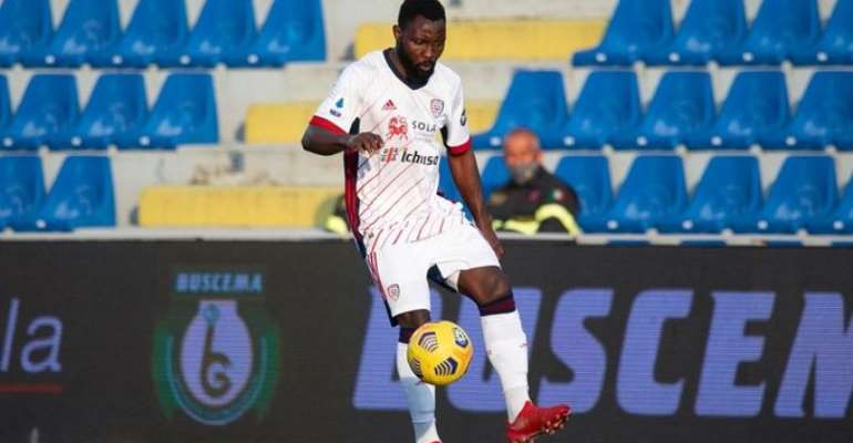 Kwadwo Asamoah delighted with Cagliari debut win over Crotone