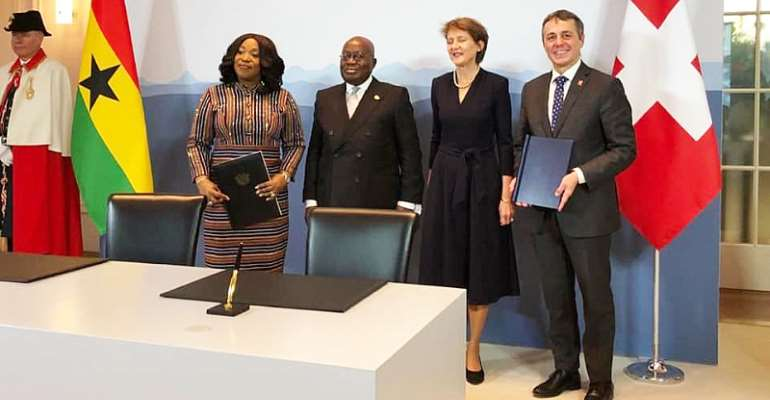 Switzerland, Ghana Sign MoU To Take Action On Climate Commitments