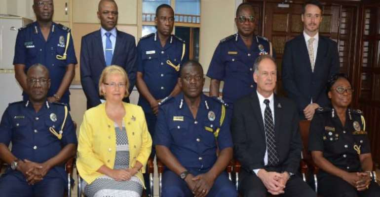 Canadian High Commission pledge to support police development