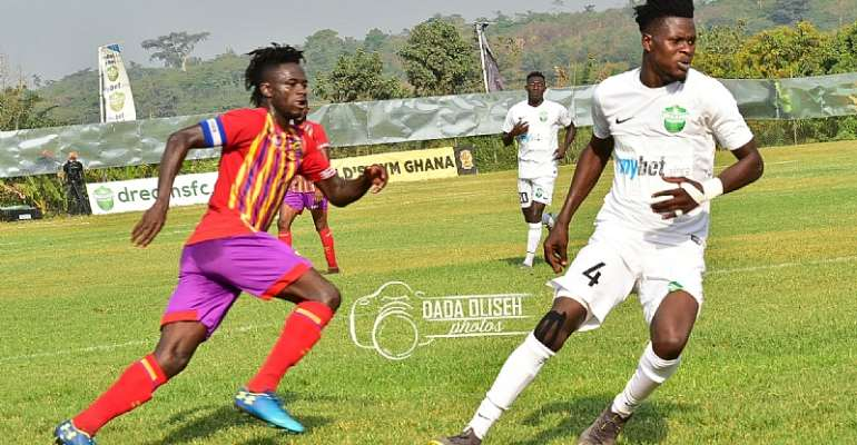VIDEO: Watch How Hearts Of Oak Defeated Dreams FC On Sunday