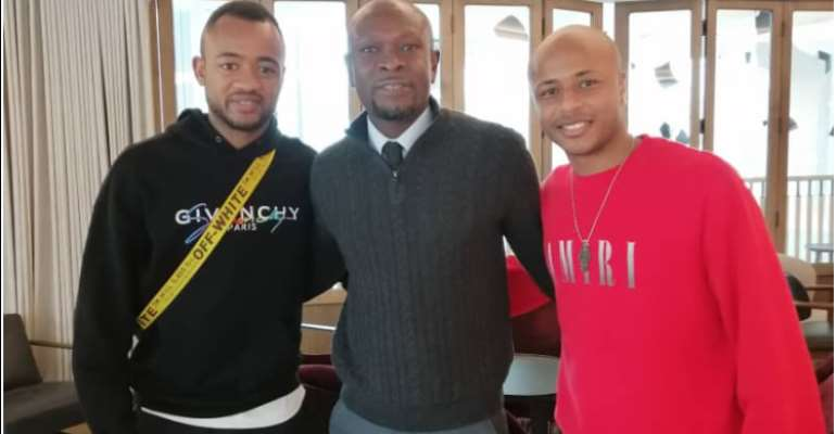 Andre Ayew Elated With CK Akonnor's Visits
