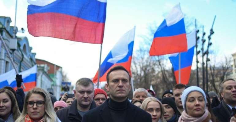 Russia's population falls half a million