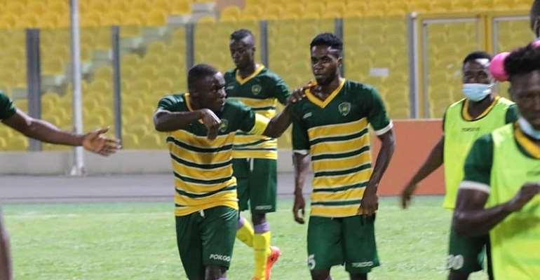 GHPL: Ebusua Dwarfs put on a good fight to defeat Ashgold SC 2-1