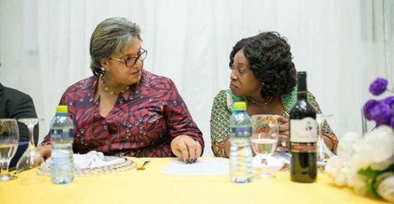 Ayorkor Botchway hosts send-off party for Hanna Tetteh [Photos]