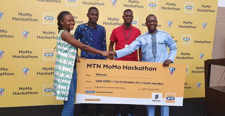 'My Contributions' App Wins MTN MoMo And Ericsson Developer Hackathon Challenge