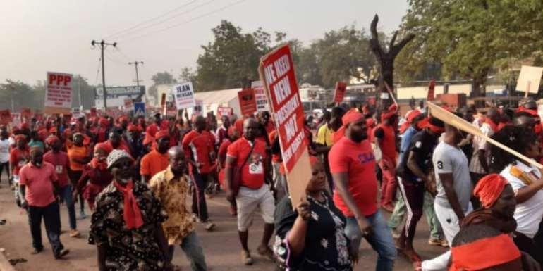 New Register: 'Wɔkpɛnɛɛ' Demo Hit Accra Today