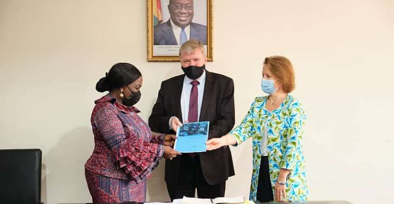 Government of Ghana, Embassy of Denmark and UNICEF launch a partnership to support the COVID-19 response