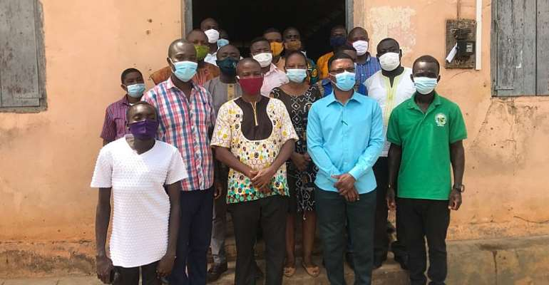 Atiwa East District's Agric Department conducts its 2020 performance review