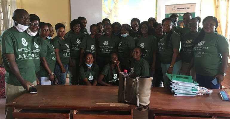 Environment360, Ges Accra District Launch Green Schools Academy
