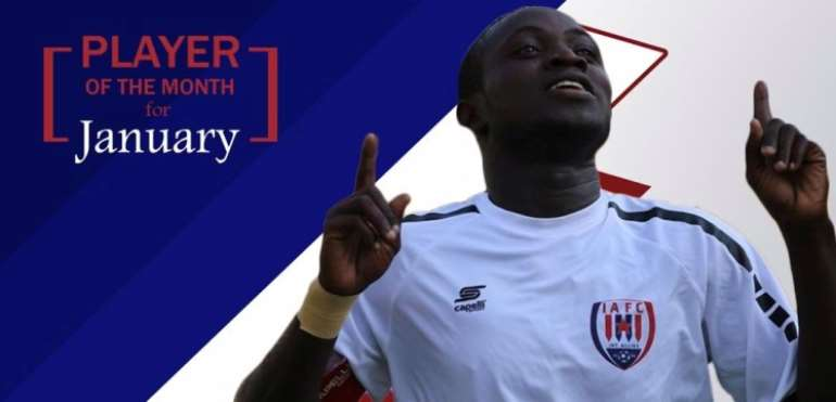 Victorien Adebayor Wins Inter Allies Player Of The Month Award For January