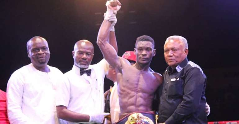 Ghana Boxing Authority Suspends Patrick Allotey For Six Months