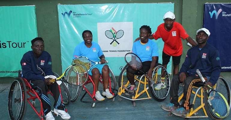 Ghana Wheelchair Tennis prepares for Double ITF International Tournaments