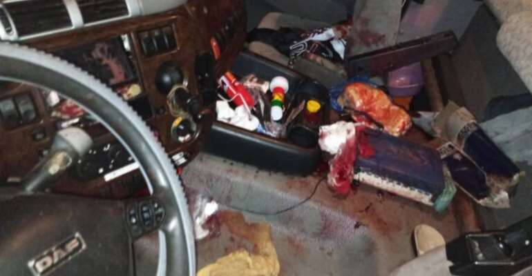 UE/R: Residents angry as two drivers shot dead in Bolga-Tamale highway robbery