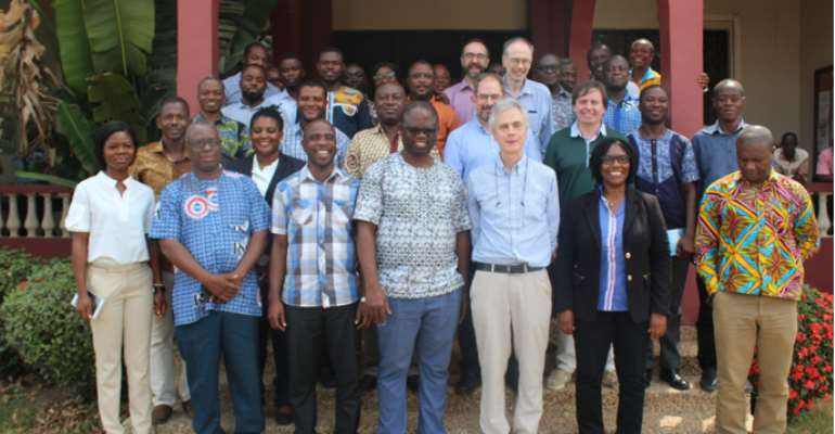 Lancaster University Commends CSIR Over Progress Of Research Projects