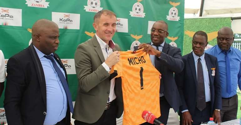 Zambia Appoint Milutin 'Micho' Sredojevic As New Head Coach