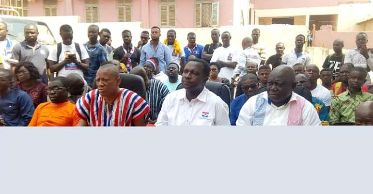 Dr. Adutwum Urges Constituents To Rally Behind Government To Address Their Developmental Needs