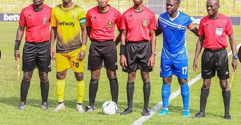 GFA Announce Appointed Match Officials For GPL Match Week 9