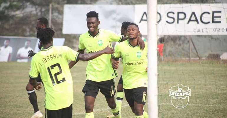 GHPL: In-form Dreams FC hammer Eleven Wonders 2-0 on the road