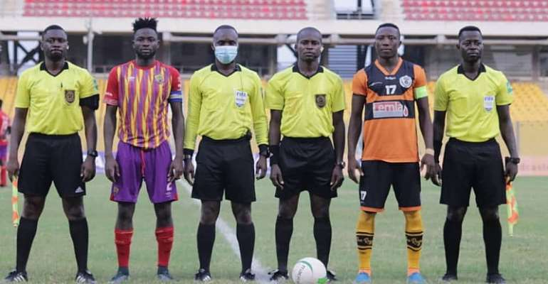 GHPL: Hearts of Oak share spoils with Legon Cities FC after 1-1 draw