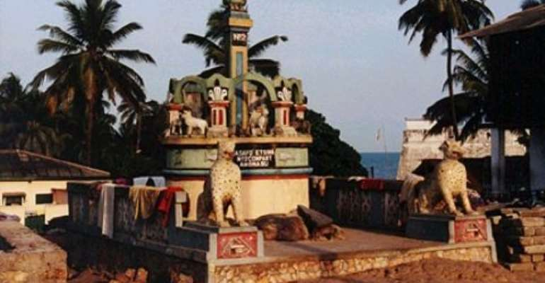 NPP  Storms Nogokpo & Klikor Shrines