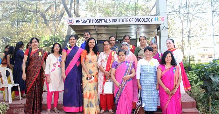 Bharath Hospital & Institute of Oncology in association with Pink Hope Foundation celebrates the spirit of cancer patients this World Cancer Day