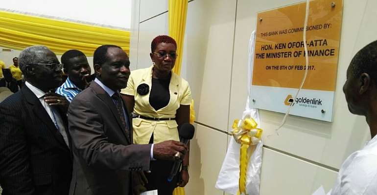 Finance Minster launches Golden Link Savings and Loans Company [photos]