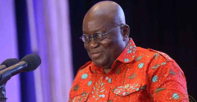 The Ghanaian leader, Nana Akufo Addo
