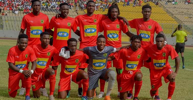 Maxwell Konadu Names Kotoko's Starting Eleven For Dreams FC Clash