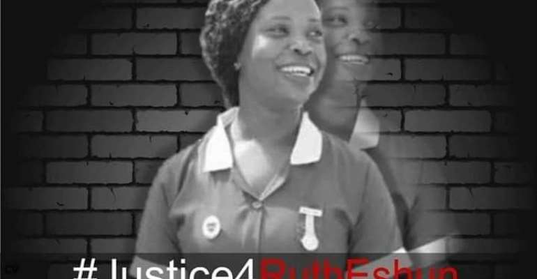 Ghanaians Launch #Justice4RuthEshun Campaign To Demand Justice For 'Murdered' Nurse