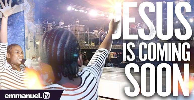 Little Girl Has Shocking Vision Of Jesus In TB Joshua's Church