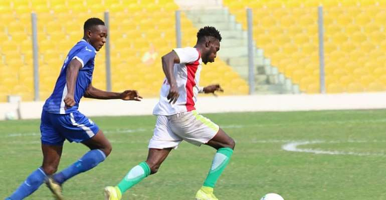 Eleven Wonders Defeat Great Olympics 2-1 In Accra