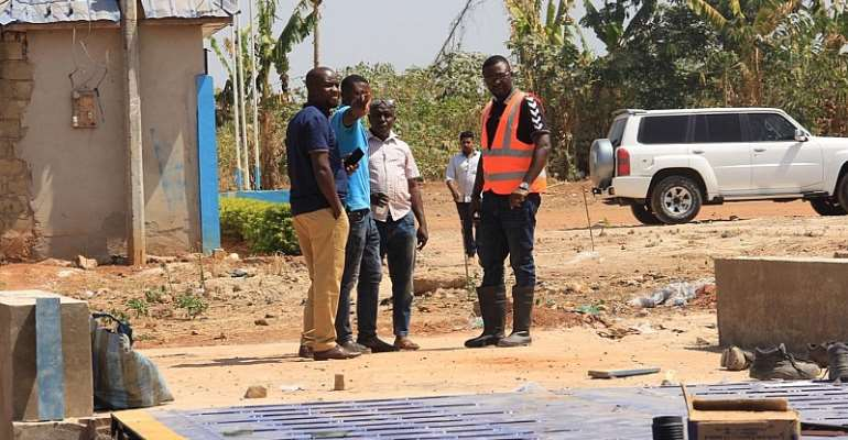 PHOTOS: Techiman North Benefits From 1D, 1F Projects