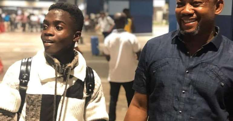 Kotoko Sensation Returns To Ghana After Successful Trail With Bayern Munich