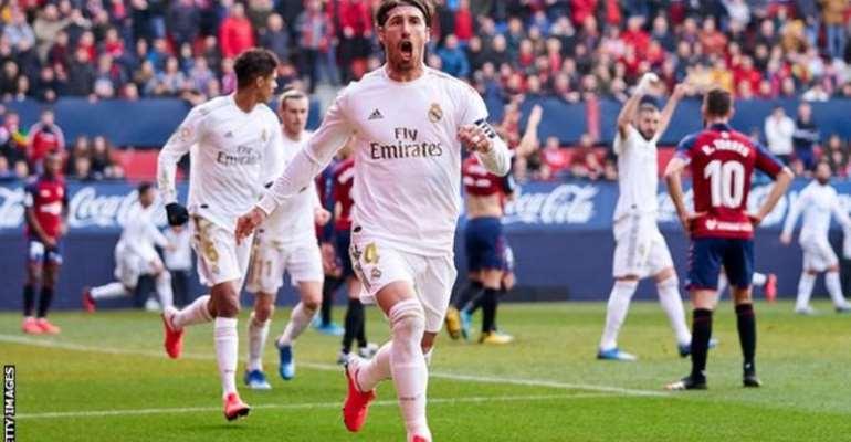 La Liga: Real Madrid Fight Back To Beat Osasuna