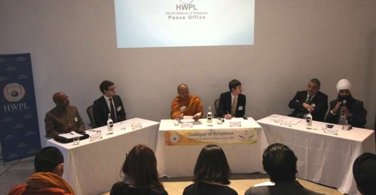 Seed of Peace Grows in the Hearts of Religious Leaders and Youths in London:  The Second Dialogue of Scriptures hosted by HWPL