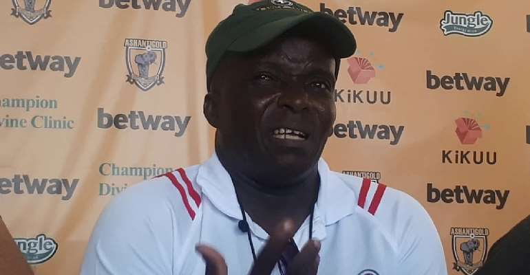 Ebusua Dwarfs head coach Ernest Thompson
