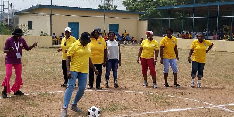 WOSPAG President Miss Joyce Mahama Salutes Ghanaians Sports Women On Int. Women's Day