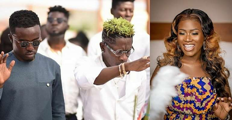 Shatta Wale, Criss Waddle Are My Strong Prayer Warriors – Fella Makafui