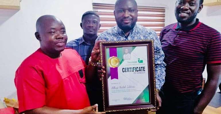 Alhaji Habib Iddrisu Receives Humanitarian Award