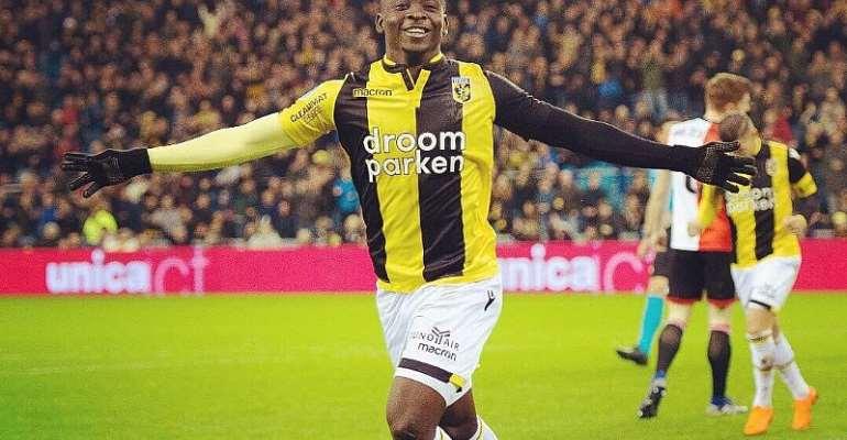 Dauda Mohammed Delighted To Score Against Feyenoord