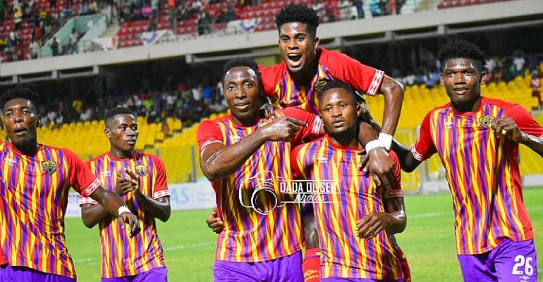 Hearts of Oak 4-0 Great Olympics: Phobians Silence Dade Boys In Capital Derby
