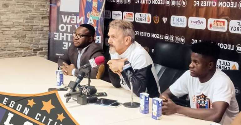 Legon Cities Coach Optimistic Of Victory Against Berekum Chelsea Today