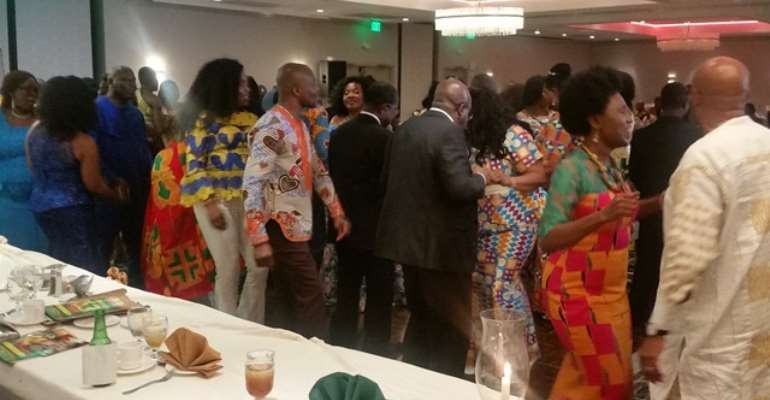 Council Of Ghanaian Associations Mark Ghana's 63rd Independence In Style