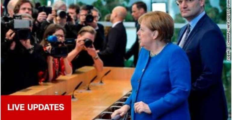 Between 60 to 70 percent of Germans could contract virus - Merkel