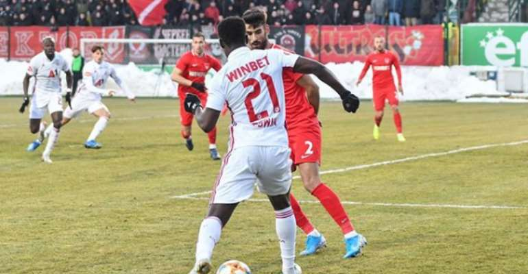 Ghana's Edwin Gyasi Delighted To Return To CSKA Sofia Training