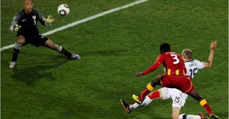 Asamoah Gyan Picks Goal Against USA In 2010 World Cup As His Best Goal